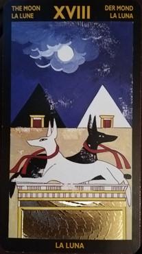 ネフェルタリタロット 月のカード