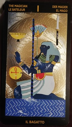 ネフェルタリタロット 魔術師のカード