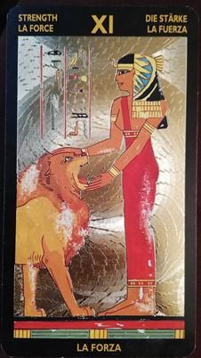 ネフェルタリタロット 『力』のカード