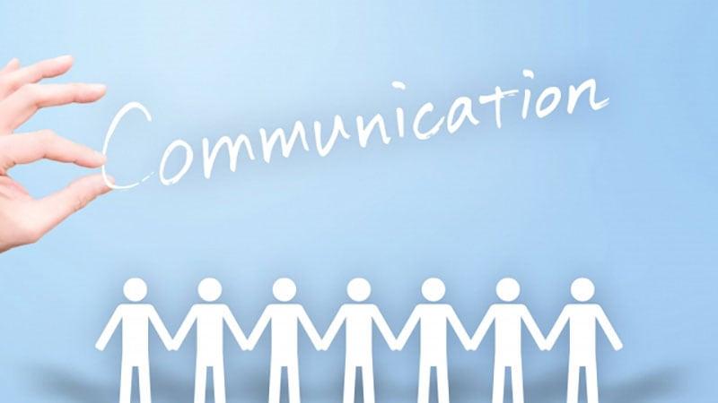 人間関係とコミュニケーションのイメージ