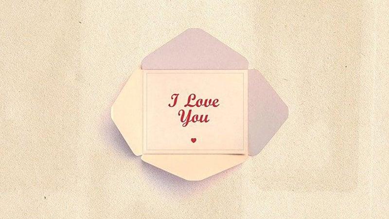 ノートに書かれた愛の告白