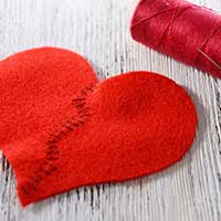 恋心を修復するイメージ